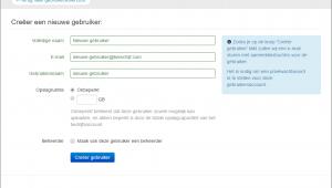 Business account nieuwe gebruiker