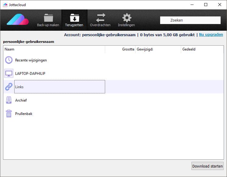 delen-in-desktop-software