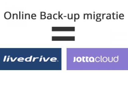 Online back-up migratie