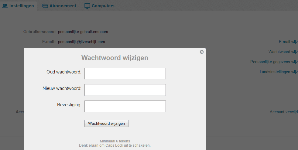 wachtwoord-wijzigen