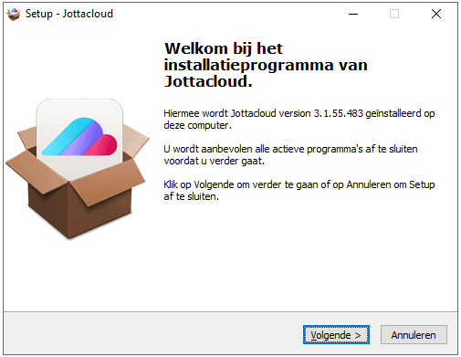 Windows installatie
